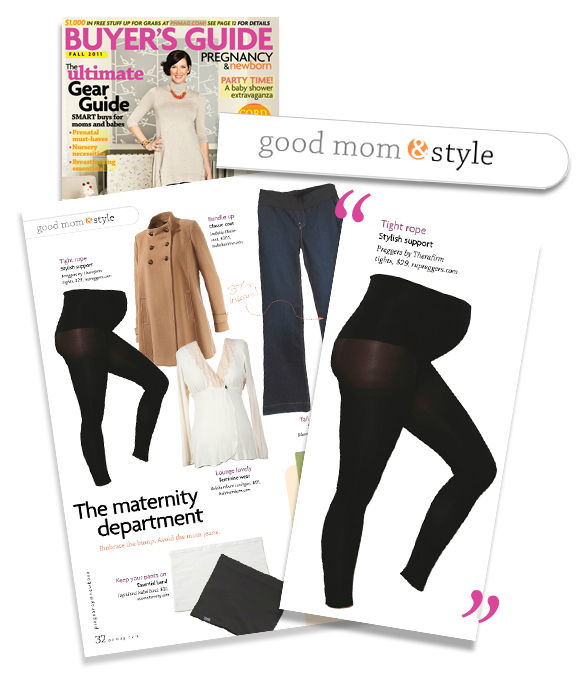 Pregnancy and Newborn Features Preggers Footless Tights as a New Mom Good Style