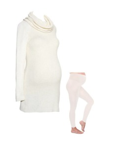 Winter White Maternity Looks