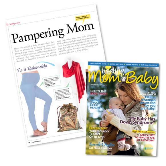 Healthy Mom & Baby: Pampering Mom featuring Preggers