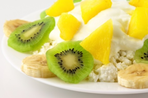 Cottage Cheese w/ Fruit