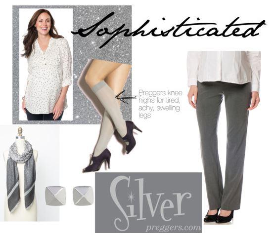 Preggers Sophisticated in Silver
