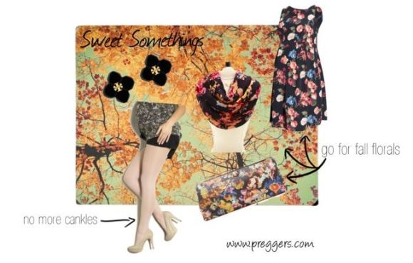 Preggers Sweet Somethings - Floral for Fall